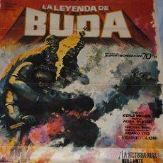 Cine: CARTEL DE CINE ORIGINAL LA LEYENDA DE BUDA, 70 POR 100CM, LEER. Lote 40086447