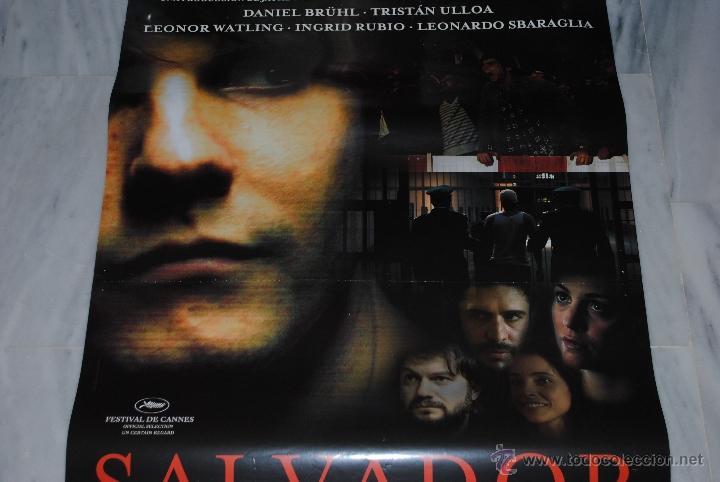 Cine: CARTEL DE CINE ORIGINAL SALVADOR, 70 POR 100CM - Foto 2 - 40081230