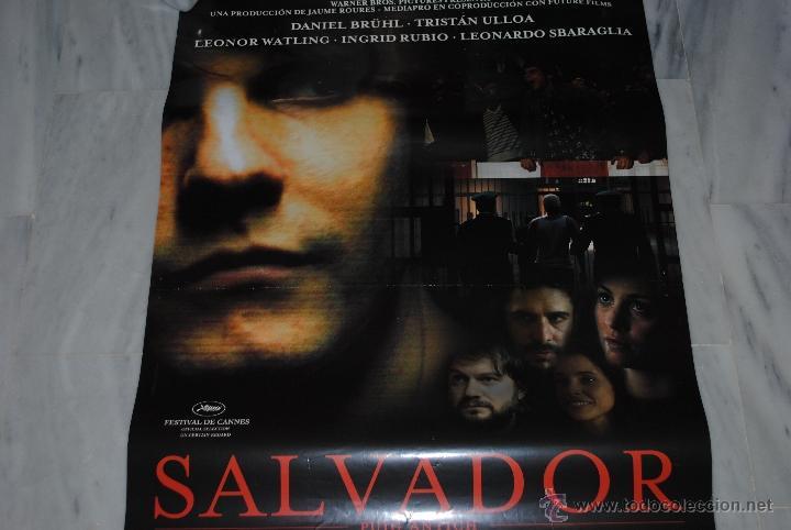 Cine: CARTEL DE CINE ORIGINAL SALVADOR, 70 POR 100CM - Foto 3 - 40081230