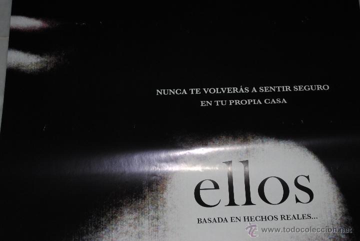 Cine: CARTEL DE CINE ORIGINAL ELLOS, NUEVO, 70 POR 100CM - Foto 2 - 40081589