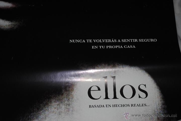 Cine: CARTEL DE CINE ORIGINAL ELLOS, NUEVO, 70 POR 100CM - Foto 3 - 40081589
