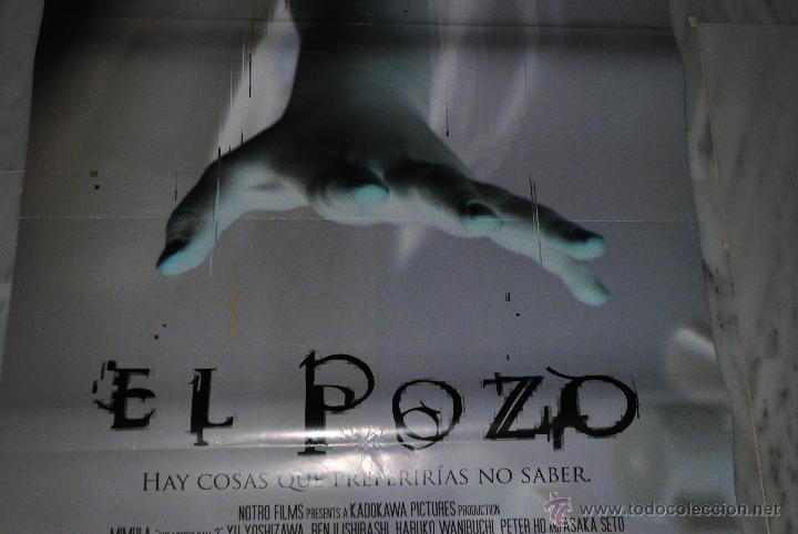 Cine: CARTEL DE CINE ORIGINAL EL POZO, NUEVO, 70 POR 100CM - Foto 2 - 40082836
