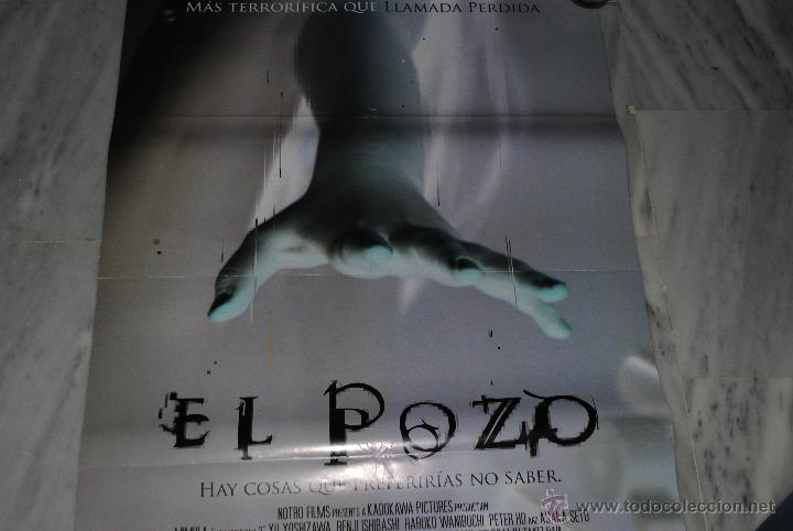 Cine: CARTEL DE CINE ORIGINAL EL POZO, NUEVO, 70 POR 100CM - Foto 3 - 40082836