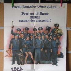 Cine: LOCA ACADEMIA DE POLICIA. Lote 40195438