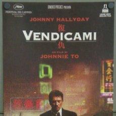 Cine: QI69 VENGEANCE JOHNNY HALLIDAY FUK SAU POSTER ORIGINAL 33X70 ITALIANO. Lote 195152511