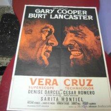Cine: SARITA MONTIEL CARTEL FRANCES DE LA PELICULA VERACRUZ 60 X 78 CTMS. Lote 40343541