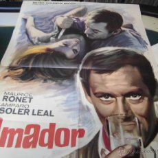 Cine: MAURICE RONET CARTEL DE LA PELICULA AMADOR 120 X 80 CTMS. ECHO EN ESPAÑA. Lote 40420977