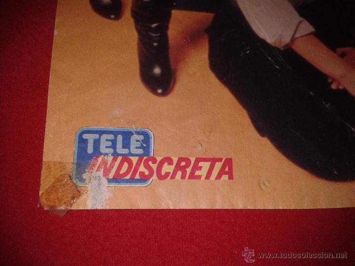 Cine: POSTER SERIE TVE V LOS LAGARTOS AÑOS 80 REVISTA TELEINDISCRETA MARC SINGER FAYE GRANT. ESCASO CARTEL - Foto 2 - 40712426