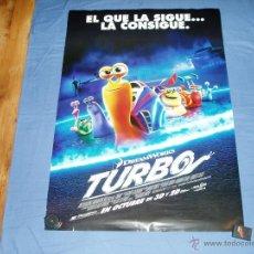 Cine: TURBO. CARTEL PELICULA CINE. .NUEVO.. Lote 40759238