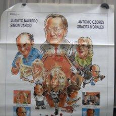 Cine: CARTEL DE CINE CANCIÓN TRISTE DE... ANTONIO OZORES GRACITA MORALES// ORIGINAL TAMAÑO 70X100. Lote 40829130