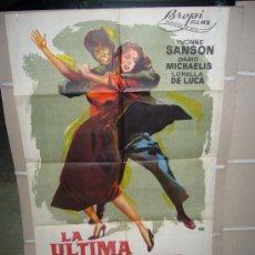 Cinema - LA ULTIMA VIOLENCIA YVONNE SANSON POSTER ORIGINAL 70X100 DEL ESTRENO JANO q - 40844444