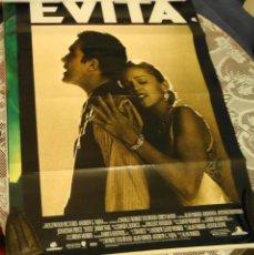 Cine: CARTEL ORIGINAL DE LA PELICULA EVITA. Lote 40900265