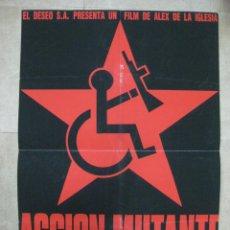 Cine: ACCION MUTANTE. ANTONIO RESINES, ALEX ANGULO, FREDERIQUE FEDER.. Lote 89938876