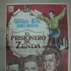 Cine: EL PRISIONERO DE ZENDA, STEWART GRANGER, DEBORAH KERR, JAMES MASON - AÑO 1967. Lote 40912374