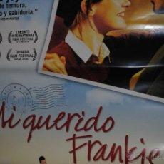 Cine: CARTEL DE CINE ORIGINAL DE LA PELÍCULA MI QUERIDO FRANKIE, 70 POR 100CM. Lote 40970220