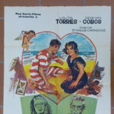 Cine: 40 AÑOS DE NOVIOS - LOLITA TORRES / GERMAN COBOS - DIRIGIDA ENRIQUE CARRERAS EN 1965. Lote 40978830