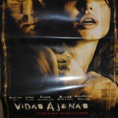 Cinéma: CARTEL DE CINE ORIGINAL DE LA PELÍCULA VIDAS AJENAS, 70 POR 100CM. Lote 215111426