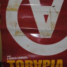 Cine: CARTEL DE CINE ORIGINAL DE LA COMEDIA TORAPIA DE KARRA ELEJALDE, 70 POR 100CM. Lote 40980448
