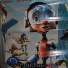 Cine: CARTEL DE CINE ORIGINAL DE LA PELÍCULA PINOCHO 3000, P3K, 70 POR 100CM. Lote 40980468