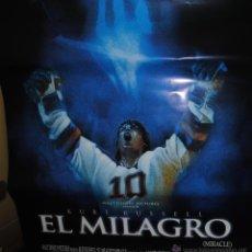 Cine: CARTEL DE CINE ORIGINAL DE LA PELÍCULA EL MILAGRO, WALT DISNEY, 70 POR 100CM. Lote 40981233