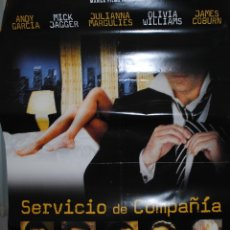 Cine: CARTEL DE CINE ORIGINAL DE LA PELÍCULA SERVICIO DE COMPAÑÍA, 70 POR 100CM. Lote 40981246