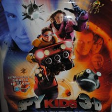 Cine: CARTEL DE CINE ORIGINAL DE LA PELÍCULA SPY KIDS 3 D, GAME OVER, 70 POR 100CM. Lote 40981263