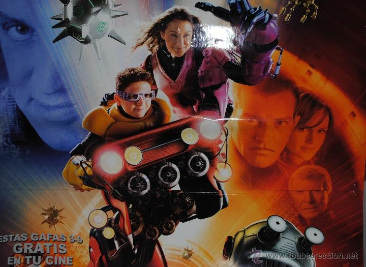 Cine: CARTEL DE CINE ORIGINAL DE LA PELÍCULA SPY KIDS 3 D, GAME OVER, 70 POR 100CM - Foto 2 - 40981263