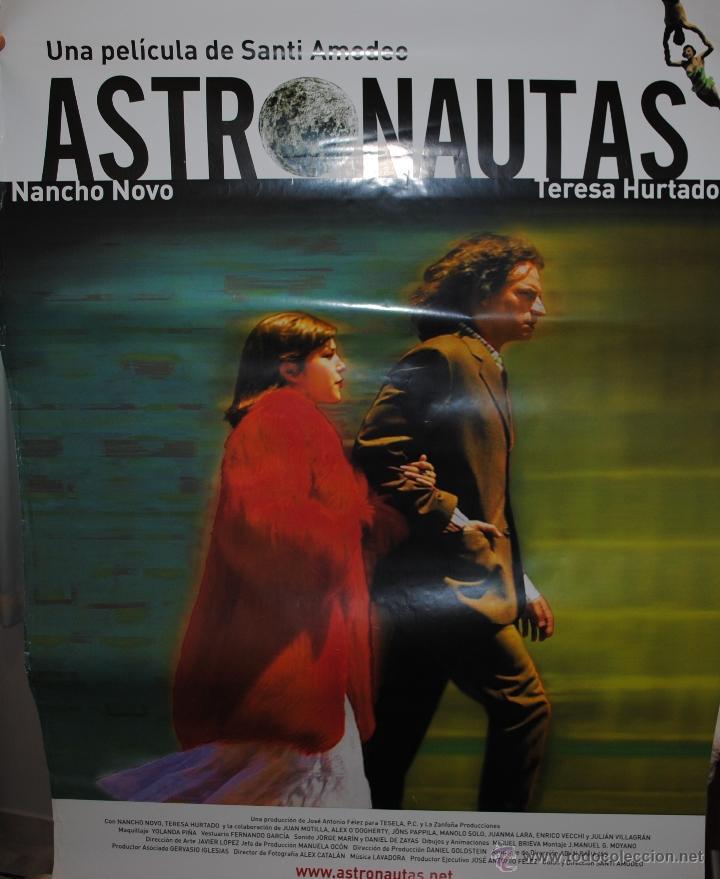 CARTEL DE CINE ORIGINAL DE LA PELÍCULA ASTRONAUTAS, 70 POR 100CM (Cine - Posters y Carteles - Suspense)