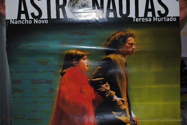 Cine: CARTEL DE CINE ORIGINAL DE LA PELÍCULA ASTRONAUTAS, 70 POR 100CM - Foto 2 - 128292986