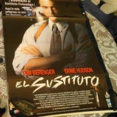 Cine: CARTEL DE CINE ORIGINAL PELICULA EL SUSTITUTO. Lote 40983237