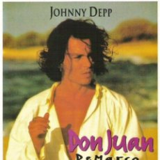 Cine: CARTEL DE CINE DON JUAN DE MARCO JOHNNY DEEP // ORIGINAL TAMAÑO 70X100. Lote 41018418