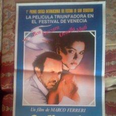 Cine: ORDINARIA LOCURA. MARCO FERRERI. FESTIVAL DE CINE DE SAN SEBASTIÁN. Lote 41072667