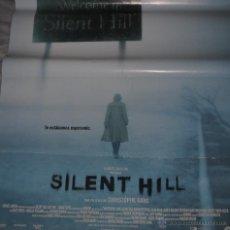 Cine: CARTEL DE CINE ORIGINAL DE LA PELÍCULA SILENT HILL, 70 POR 100CM. Lote 41080089