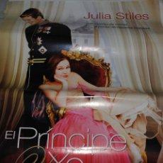 Cine: CARTEL DE CINE ORIGINAL DE LA PELÍCULA EL PRÍNCIPE Y YO, JULIA STILES, 70 POR 100CM. Lote 41080268