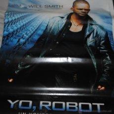 Cine: CARTEL DE CINE ORIGINAL DE LA PELÍCULA YO ROBOT, WILL SMITH, 70 POR 100CM. Lote 41080307