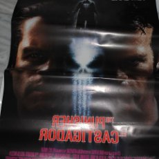 Cine: CARTEL DE CINE ORIGINAL DE LA PELÍCULA THE PUNISHER, EL CASTIGADOR, 70 POR 100CM. Lote 41080360