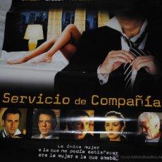 Cine: CARTEL DE CINE ORIGINAL DE LA PELÍCULA SERVICIO DE COMPAÑÍA, 70 POR 100CM. Lote 41080395