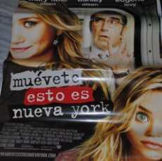 Cine: CARTEL DE CINE ORIGINAL DE LA PELÍCULA MUÉVETE, ÉSTO ES NUEVA YORK, 70 POR 100CM. Lote 41080689