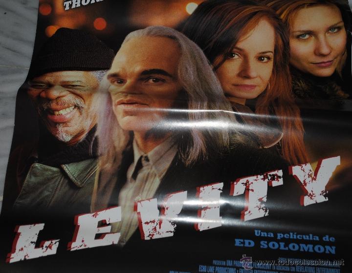 CARTEL DE CINE ORIGINAL DE LA PELÍCULA LEVITY, 70 POR 100CM (Cine - Posters y Carteles - Suspense)