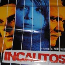 Cine: CARTEL DE CINE ORIGINAL DE LA PELÍCULA INCAUTOS, 70 POR 100CM. Lote 41081613