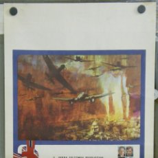Cine: QK23D LA BATALLA DE INGLATERRA MICHAEL CAINE LAURENCE OLIVIER POSTER ORIGINAL ITALIANO 33X70. Lote 41094875