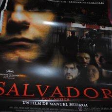 Cine: CARTEL DE CINE ORIGINAL DE LA PELÍCULA SALVADOR, PUIG ANTICH, 70 POR 100CM. Lote 41097127