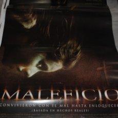 Cine: CARTEL DE CINE ORIGINAL DE LA PELÍCULA MALEFICIO, 70 POR 100CM. Lote 41099224