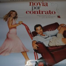 Cine: CARTEL DE CINE ORIGINAL DE LA PELÍCULA NOVIA POR CONTRATO, JESSICA PARKER, 70 POR 100CM. Lote 41099464