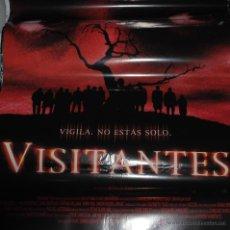 Cine: CARTEL DE CINE ORIGINAL DE LA PELÍCULA VISITANTES, VIGILA NO ESTÁS SOLO, 70X100CM. Lote 41126582