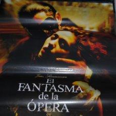 Cine: CARTEL DE CINE ORIGINAL DE LA PELÍCULA EL FANTASMA DE LA ÓPERA, 70 POR 100CM. Lote 41127311
