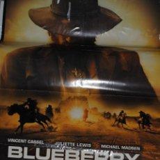 Cine: CARTEL DE CINE ORIGINAL DE LA PELÍCULA BLUEBERRY, LA EXPERIENCIA SECRETA, 70 POR 100CM. Lote 41127370