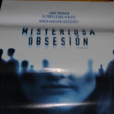 Cine: CARTEL DE CINE ORIGINAL DE LA PELÍCULA MISTERIOSA OBSESIÓN, 70 POR 100CM. Lote 41127442
