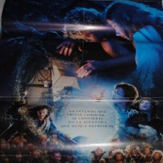 Cine: CARTEL DE CINE ORIGINAL DELA PELÍCULA DE PETER PAN, LA GRAN AVENTURA, 70 POR 100CM. Lote 41132500