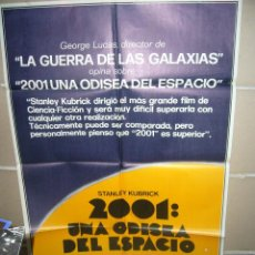 Cine: 2001 UNA ODISEA DEL ESPACIO STANLEY KUBRICK POSTER ORIGINAL 70X100 YY (264). Lote 41158734